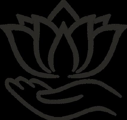 Lavender Lotus Massage Icon Black.png