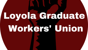 Loyola Graduate Workers' Union Statement on PhD Stipend Increases