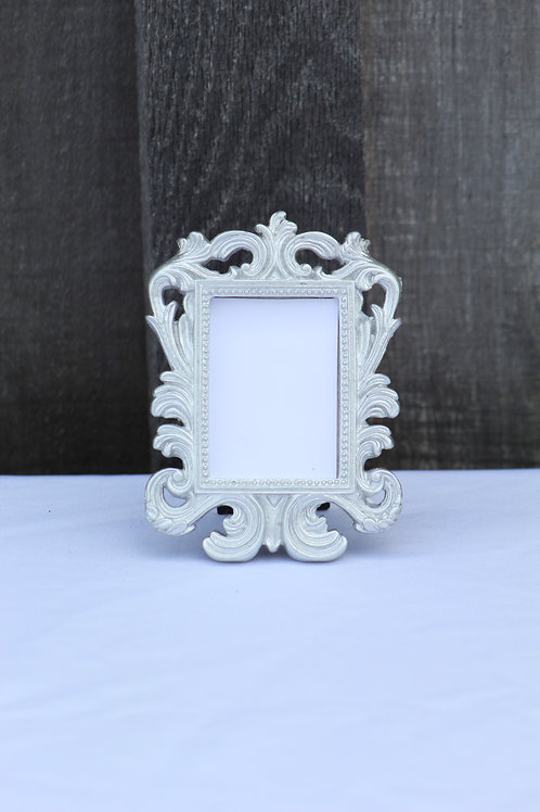 small frames-white(5) silver(5)