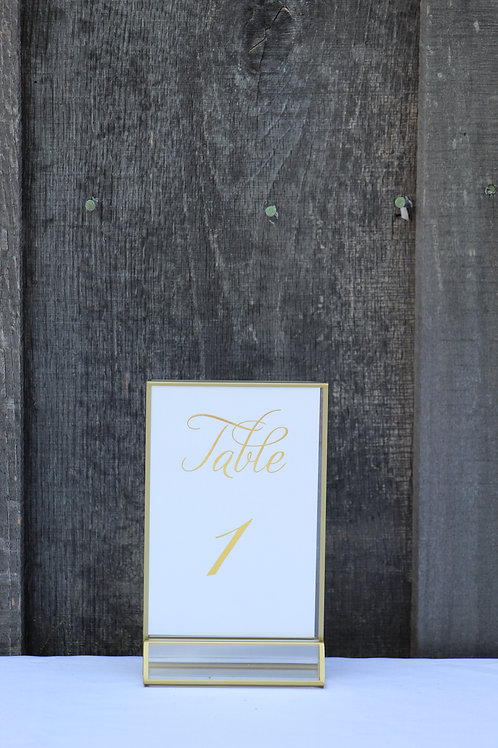 gold table numbers 1-30