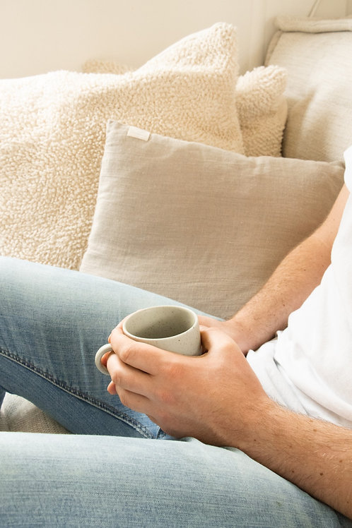 Grainy cup coffee