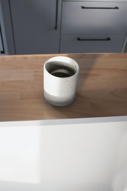 Grainy cup tea