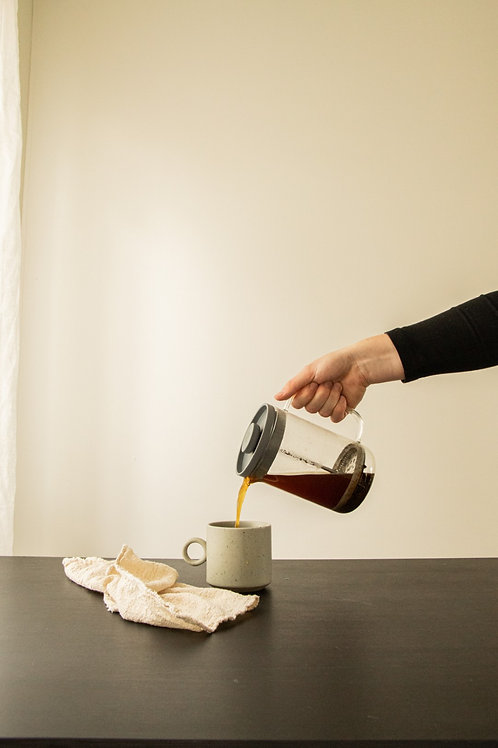 French press voor slow coffee
