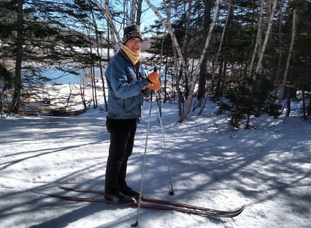 Maintaining Ski Tracks in the Woods