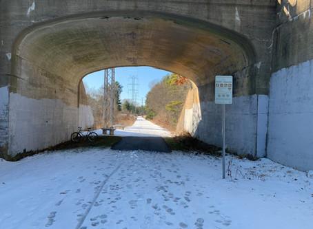 January 5, 2020: Rail Trail, Jericho Forest, Sunday Woods