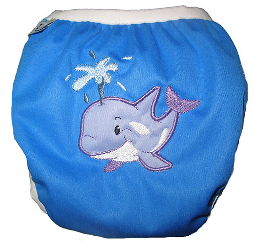 WS - Lil Squirt - Snap Closure Swimmer