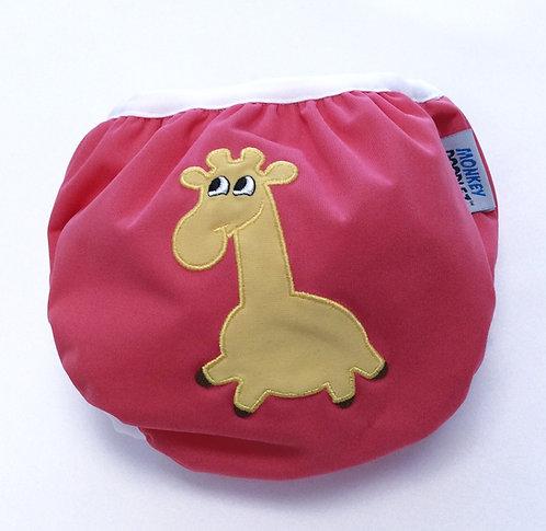 Giraffe Pull Up Swimmer