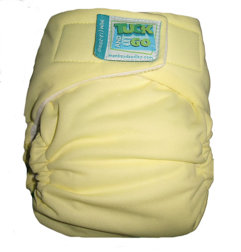 Yellow Tuck and Go Diaper Cover