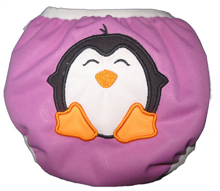 WS - Petunia Penguin - Snap Closure Swimmer
