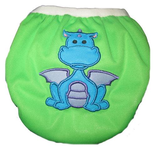 Lil' Dragon - Snap Closure Swimmer