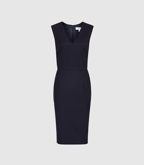Navy Suit Dress
