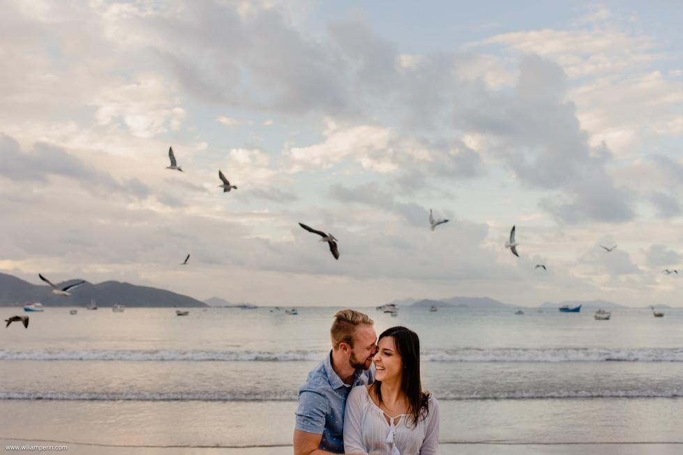 Fernanda e Éverton | Pré-casamento | Garopaba/SC