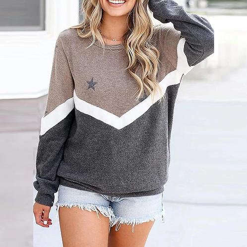 Over Sized Women Sweatshirt