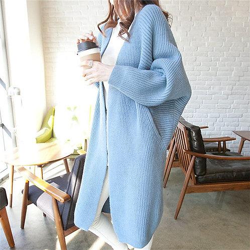 Women Long Cardigans Winter Coat/ Jacket