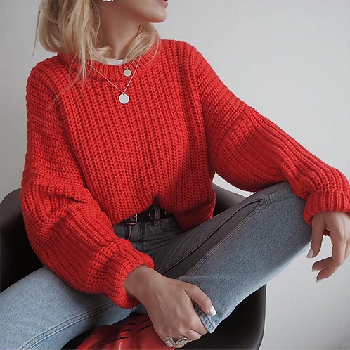 Solid Tone Sweater