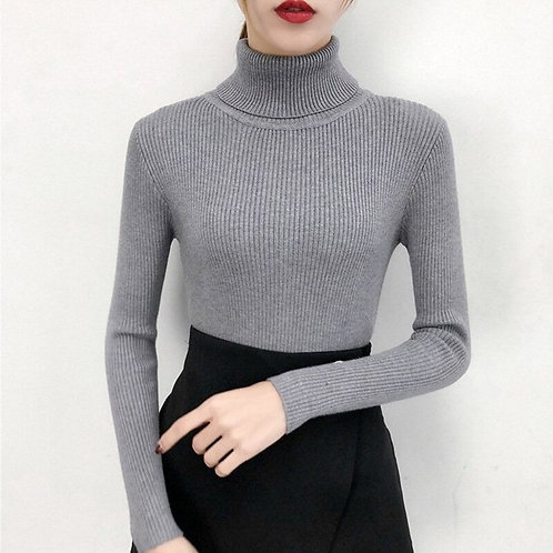 Turtleneck Sweaters Pullovers Top