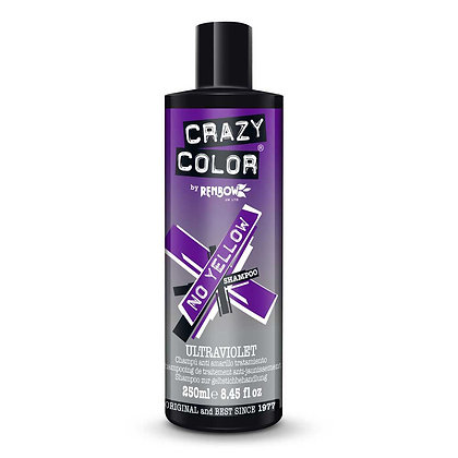 Crazy Color No Yellow Shampooing 250ml
