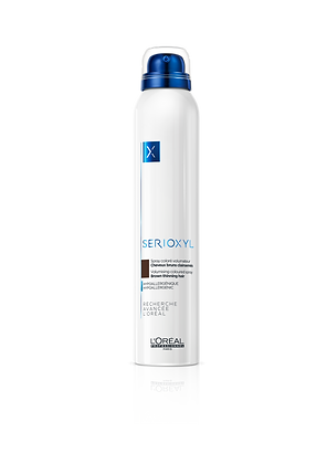 SERIOXYL Spray Coloré Volumateur Brun 200ml