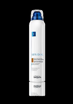 SERIOXYL Spray Coloré Volumateur Châtain 200ml