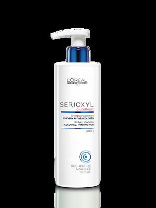 SERIOXYL Shampooing clarifiant et densifiant 250ml (cheveux colorés)