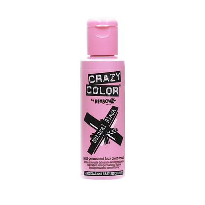 Crazy Color 032 Natural Black 100ml