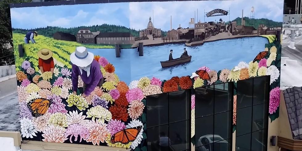 Kiku Dreaming Mural Unveiling
