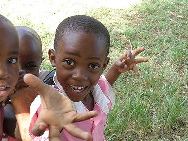 A boy from our nursery in Hale , Tanzania.