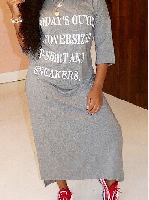 T-shirt & Sneakers | Dress