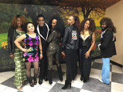 Had fun cooking for this group of soul train dancers and radio talents