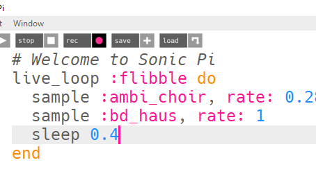 Coding 3 - Create Music with Code