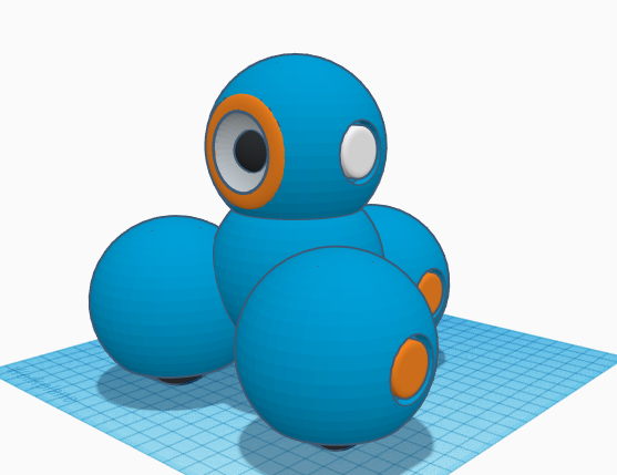 A Dash Robot I recreated a couple months ago