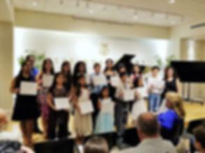 recital students.JPG