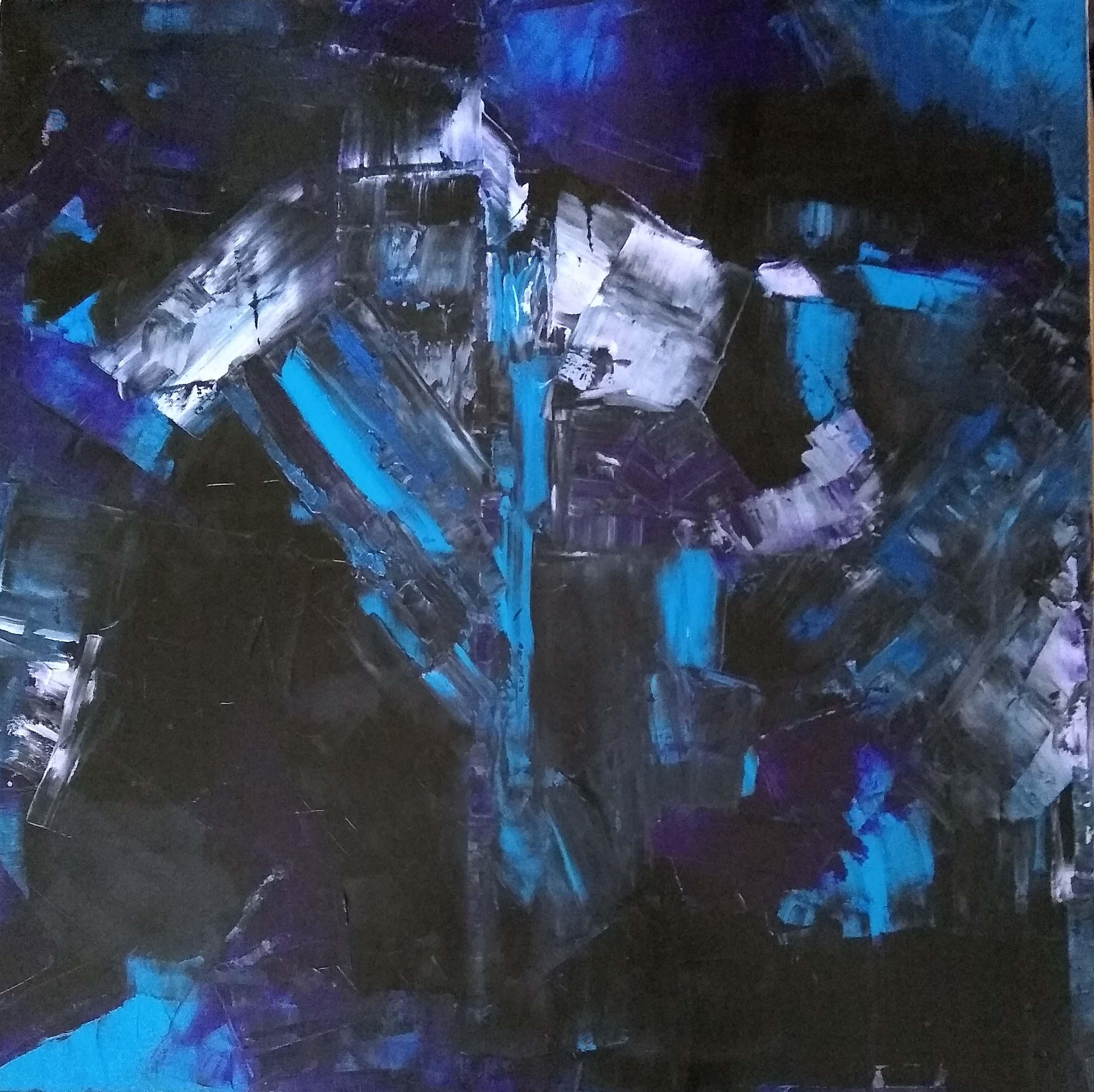 Bruised Black, Blue, Purple