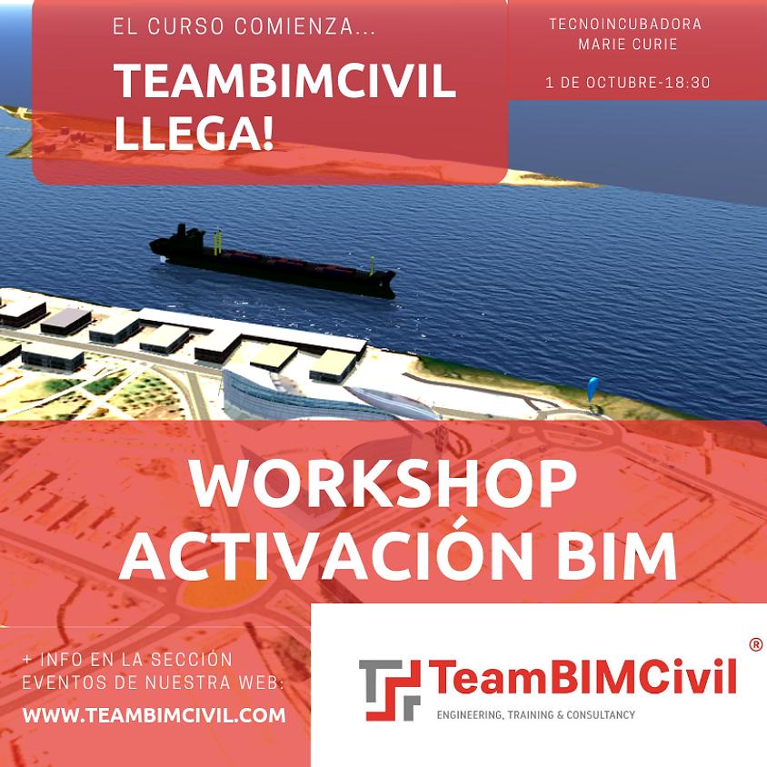 WORKSHOP ACTIVACIÓN #BIMCIVIL