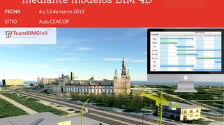 Curso Planificacion de Obra con Modelos 4D