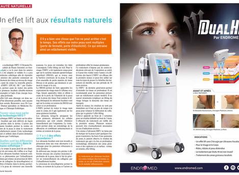 """DUAL HI® par ENDROMED présenté dans le magazine """"Santé Naturelle"""" !"""