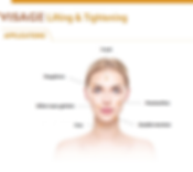 Endromed : DUAL HI zone de traitement Visage