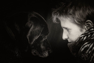 Mano et son chien ...