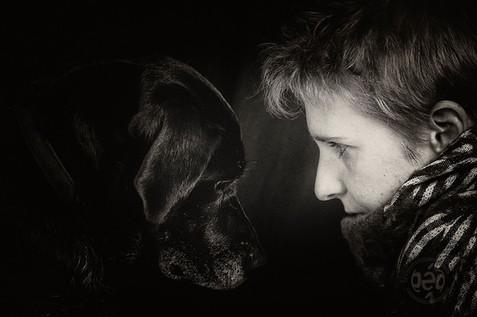 Mano et son chien
