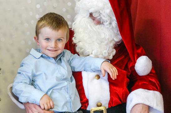 Une visite au Père Noël,