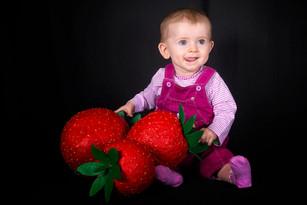 Miam les bonnes fraises ...