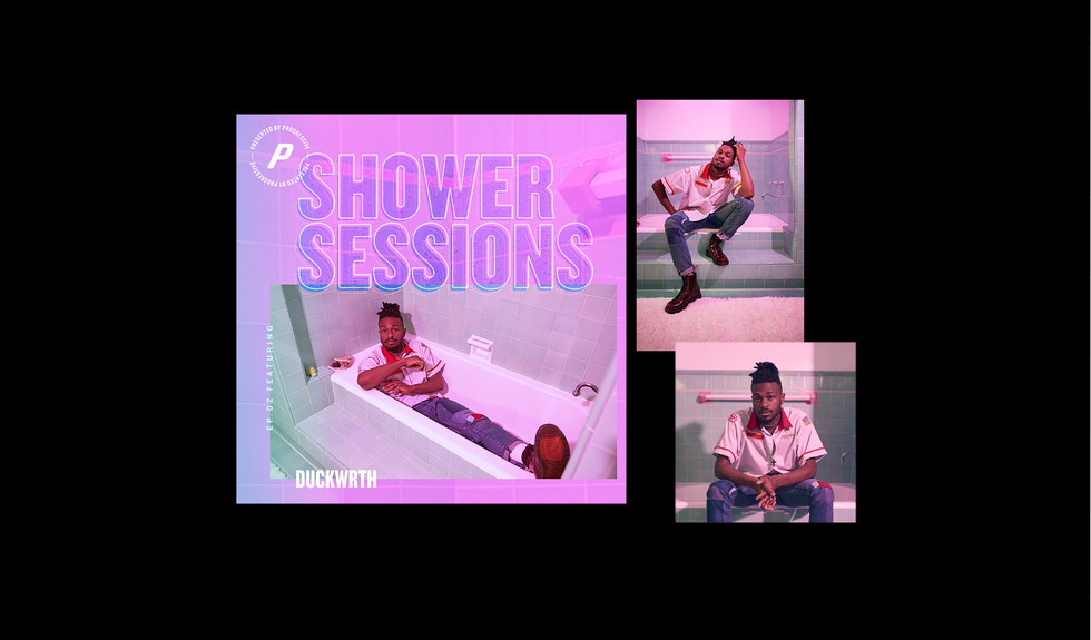 Website LayoutsShower Sessions Duckwrth.