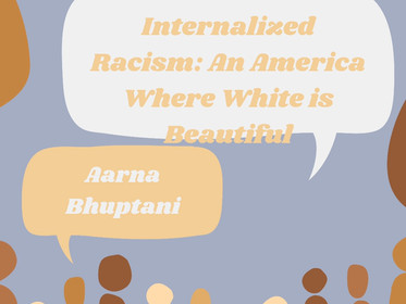 Internalized Racism: An America Where White is Beautiful