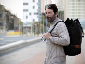 O que são as mochilas tubulares ou marinheiro? A criação de um novo modelo.