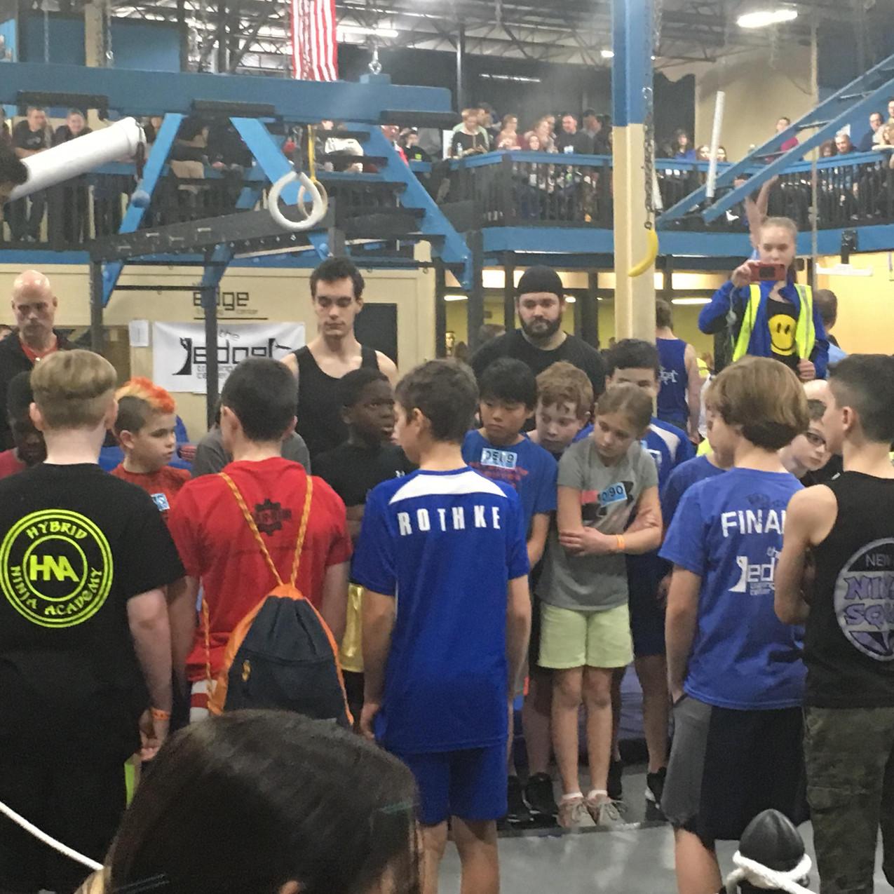 Obstacle Academy Youth Ninja Team NNL Finals 2018