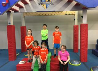 Swinging into Spring: March 2018 Youth Ninja Team Recap