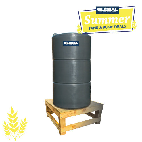 700L Poly Tank & Stand