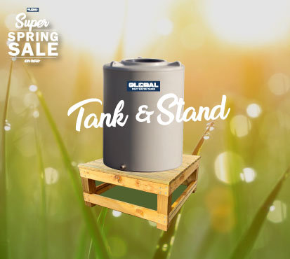 490L Poly Tank with Stand