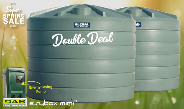 2x 22,700L Tank and Pump Double Deal