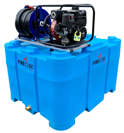 Fire Cube 900 L Water Cartage Tank & Fire Pump FC900-B